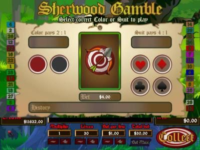 Mission 2 Game featuring the Video Slots Sherwood with a maximum payout of Jackpot