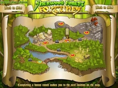 Superbet Palace featuring the Video Slots Sherwood Forest Fortunes with a maximum payout of $25,000