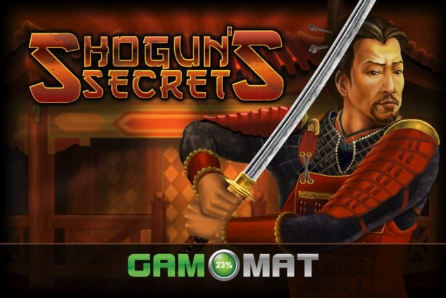 Videoslots featuring the Video Slots Shogun's Secret with a maximum payout of $3,000
