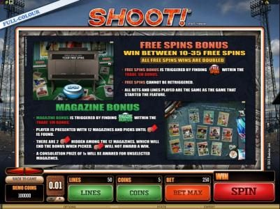 River Belle featuring the Video Slots Shoot! with a maximum payout of $20,000