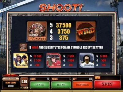 Zodiac featuring the Video Slots Shoot! with a maximum payout of $20,000