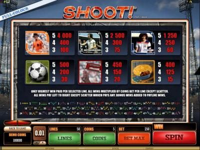 Play slots at Casino Room: Casino Room featuring the Video Slots Shoot! with a maximum payout of $20,000