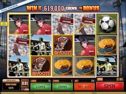 YouWin featuring the Video Slots Shoot! with a maximum payout of $20,000