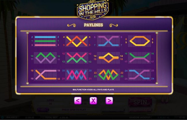 Gossip Slots featuring the Video Slots Shopping in the Hills with a maximum payout of $10,000