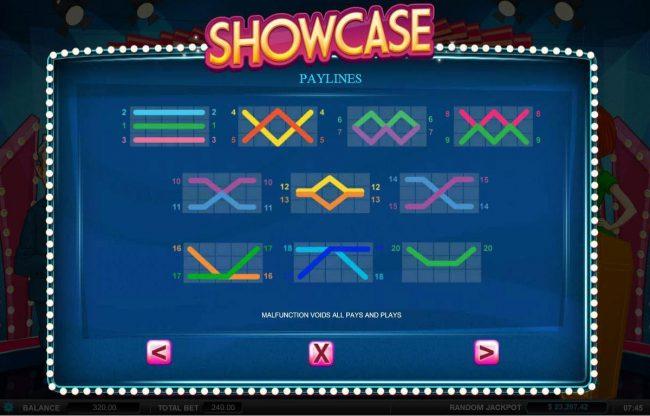Showcase :: Payline Diagrams 1-20