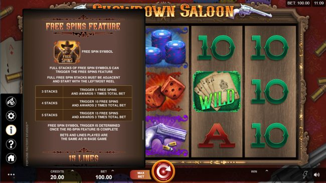 Play slots at betmaster: betmaster featuring the Video Slots Showdown Saloon with a maximum payout of $150,000