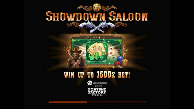 Play slots at Vegas Joker: Vegas Joker featuring the Video Slots Showdown Saloon with a maximum payout of $150,000