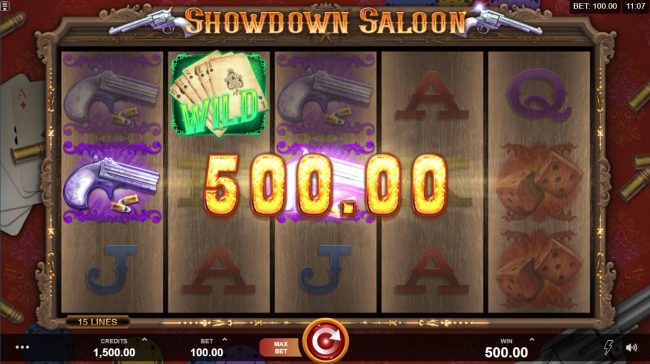 Grand Hotel featuring the Video Slots Showdown Saloon with a maximum payout of $150,000