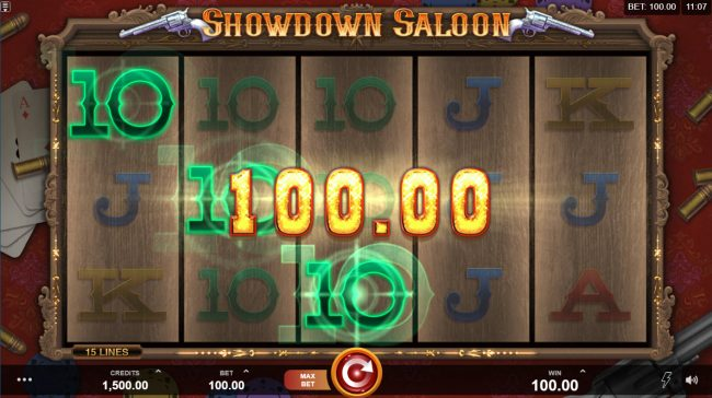 Play slots at Rich Reels: Rich Reels featuring the Video Slots Showdown Saloon with a maximum payout of $150,000