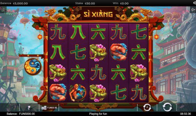 Si Xiang :: Main Game Board