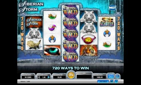 Play slots at Betfred: Betfred featuring the Video Slots Siberian Storm with a maximum payout of $250,000