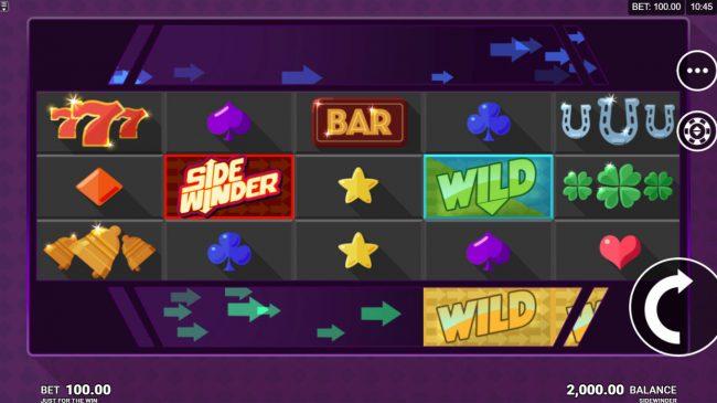 Side Winder :: Main Game Board