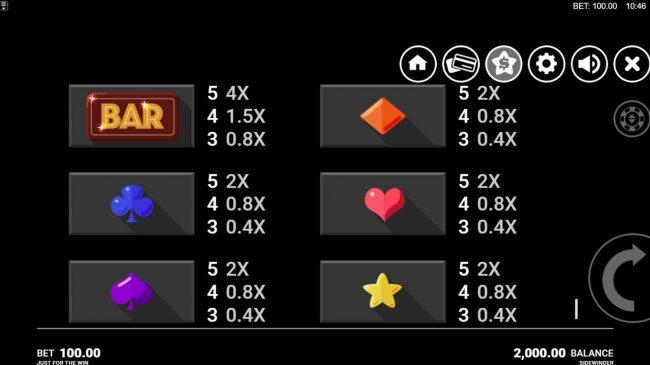 Side Winder :: Low Value Symbols