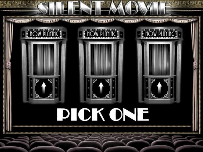 Wild Slots featuring the Video Slots Silent Movie with a maximum payout of $250,000