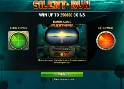 Play slots at Thrills: Thrills featuring the Video Slots Silent Run with a maximum payout of $5,000