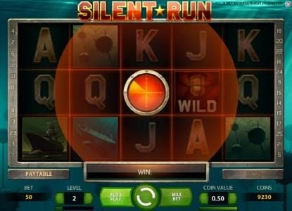 Wild Wild Bet featuring the Video Slots Silent Run with a maximum payout of $5,000