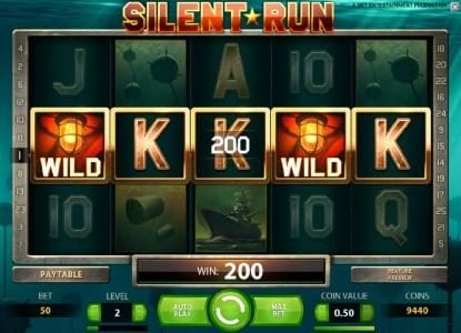 TheBesCasino featuring the Video Slots Silent Run with a maximum payout of $5,000