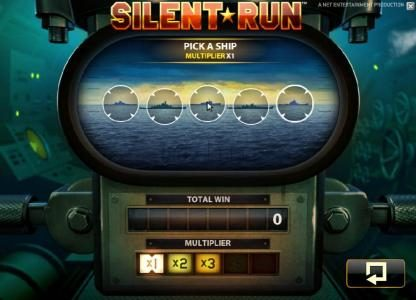 Fruity Vegas featuring the Video Slots Silent Run with a maximum payout of $5,000