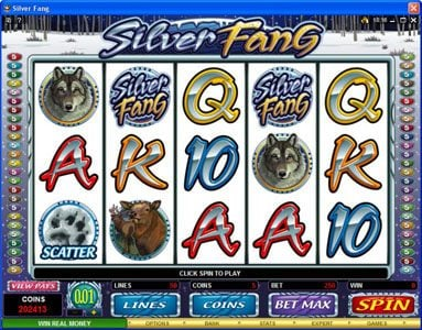Play slots at Bet Phoenix: Bet Phoenix featuring the Video Slots Silver Fang with a maximum payout of $125,000