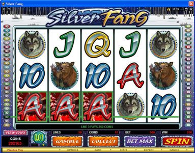 Grand Ivy featuring the Video Slots Silver Fang with a maximum payout of $125,000