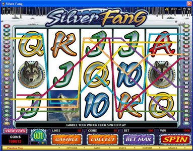 Play slots at Yukon Gold: Yukon Gold featuring the Video Slots Silver Fang with a maximum payout of $125,000