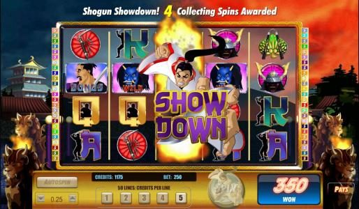 TS featuring the Video Slots Sinful Spins with a maximum payout of $125,000