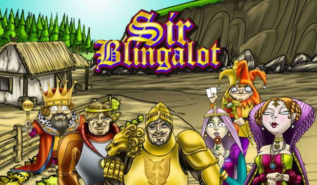 Zet Casino featuring the Video Slots Sir Blingalot with a maximum payout of $2,500,000