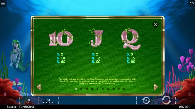 Wild Tornado featuring the Video Slots Siren's Kingdom with a maximum payout of $60,000