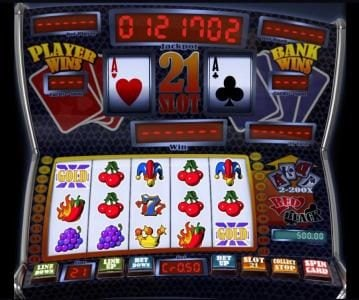 Play slots at Winaday: Winaday featuring the Video Slots Slot 21 with a maximum payout of $4,000