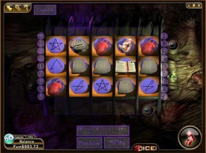 three red heart symbols triggers bonus feature