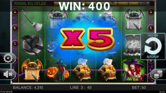 X-Bet featuring the Video Slots Slots Bound with a maximum payout of $12,000