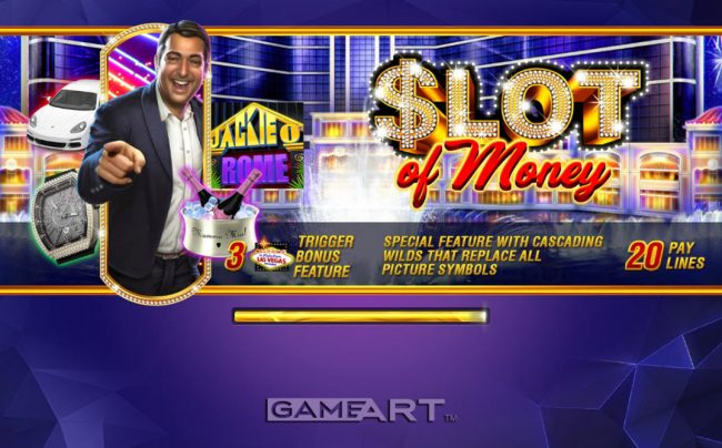 Play slots at NordiCasino: NordiCasino featuring the Video Slots Slot of Money with a maximum payout of $5,000