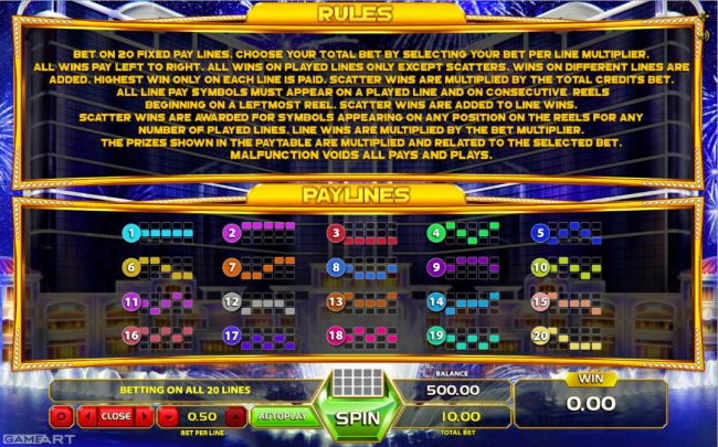 Play slots at Surf Casino: Surf Casino featuring the Video Slots Slot of Money with a maximum payout of $5,000