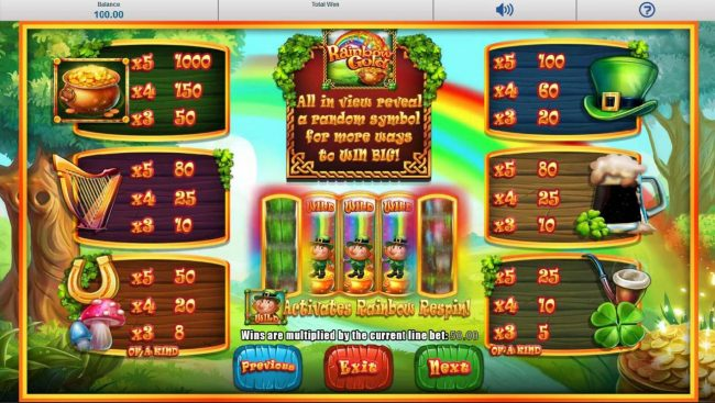 Chomp featuring the Video Slots Slots O' Gold with a maximum payout of Jackpot