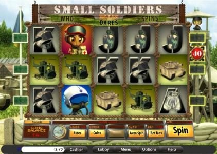 Grand Bay featuring the Video Slots Small Soldiers with a maximum payout of 30,000x