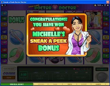 Play slots at Casino Splendido: Casino Splendido featuring the Video Slots Sneek a Peek-Doctor Doctor with a maximum payout of $13,500