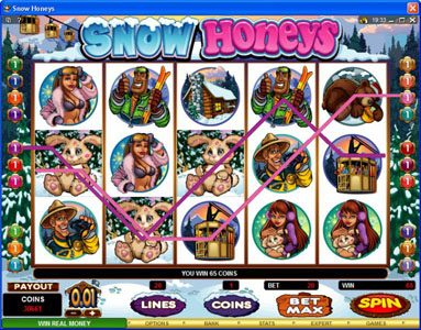Grand Hotel featuring the Video Slots Snow Honeys with a maximum payout of $20,000