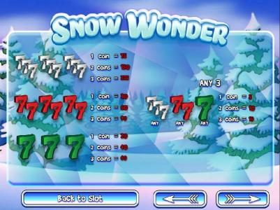 Desert Nights Rival featuring the Video Slots Snow Wonder with a maximum payout of $75,000