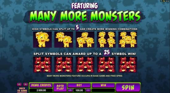 777Dragon featuring the Video Slots So Many Monsters with a maximum payout of $56,000