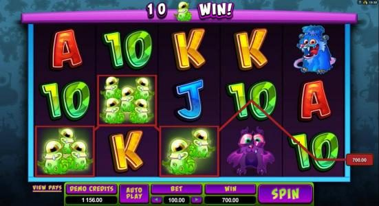 Play slots at UK Casino Club: UK Casino Club featuring the Video Slots So Many Monsters with a maximum payout of $56,000