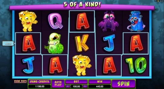 Fortune Junction featuring the Video Slots So Many Monsters with a maximum payout of $56,000