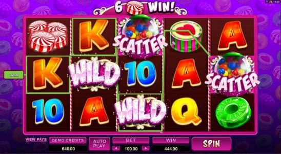 Casino Extra featuring the Video Slots So Much Candy with a maximum payout of $56,000