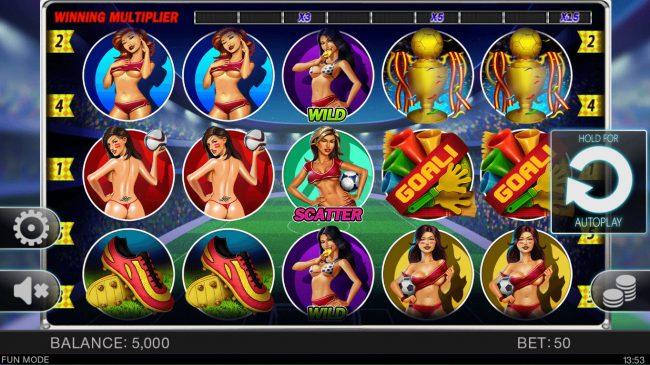 Soccer Babes :: Main Game Board