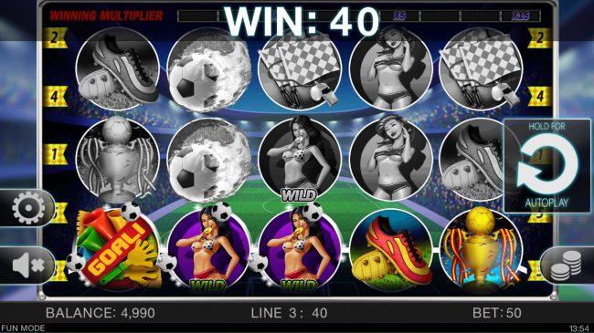 Soccer Babes :: Winning combination