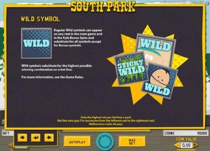 Svedala featuring the Video Slots South Park with a maximum payout of $750