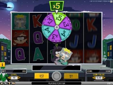 PropaWin featuring the Video Slots South Park Reel Chaos with a maximum payout of $50,000