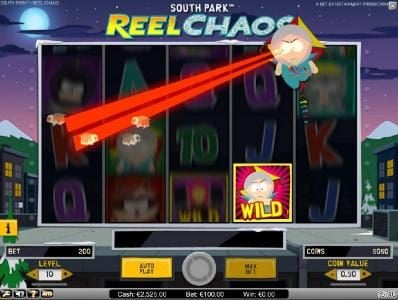 Prime Slots featuring the Video Slots South Park Reel Chaos with a maximum payout of $50,000
