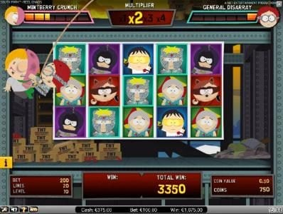 Play Hippo featuring the Video Slots South Park Reel Chaos with a maximum payout of $50,000