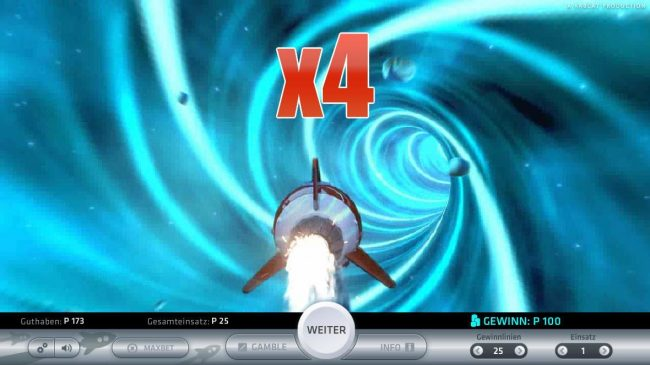 10Bet featuring the Video Slots Space Adventure with a maximum payout of $5,000