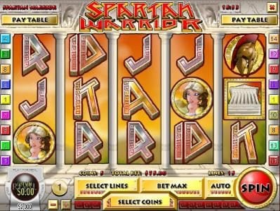 Play slots at Sahara Sands: Sahara Sands featuring the Video Slots Spartan Warrior with a maximum payout of $25,000